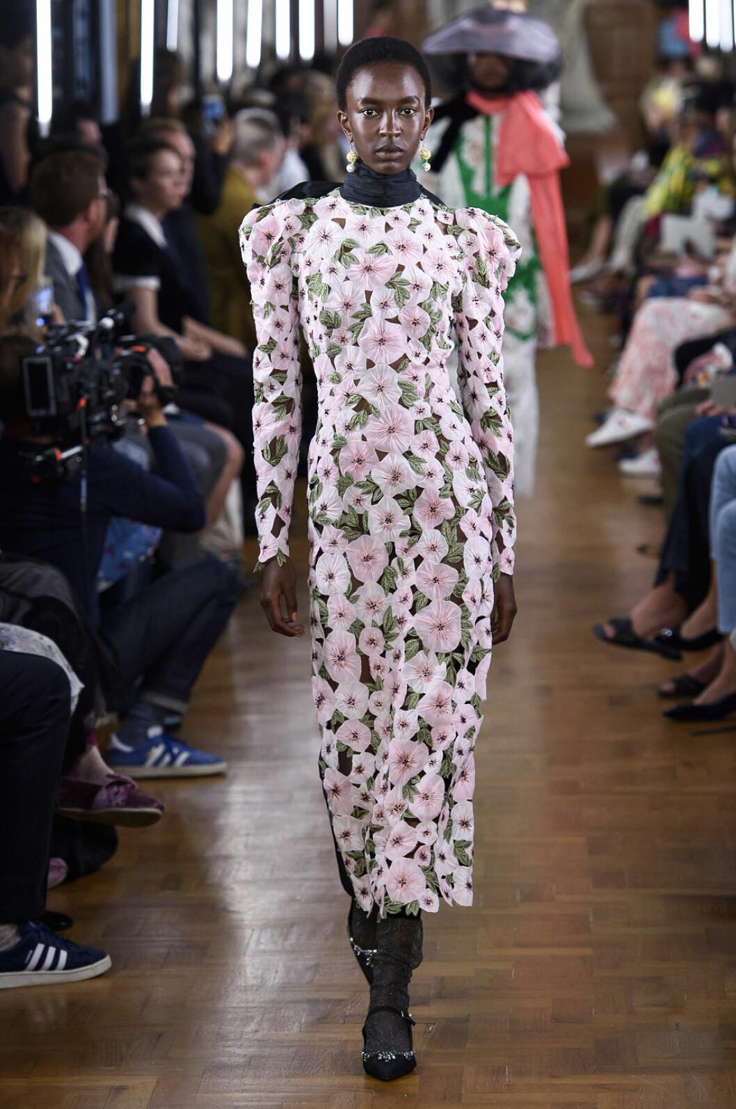 Erdem blommig klänning ss-19
