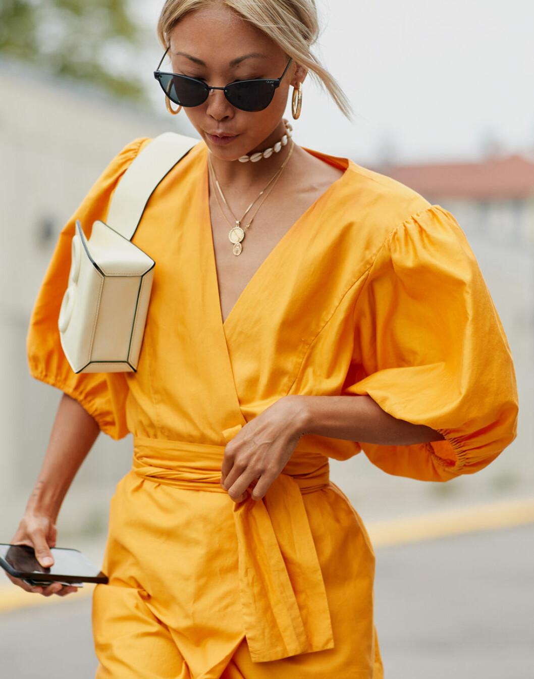 halsbandsmix stylingnspiration från Köpenhamns modevecka.