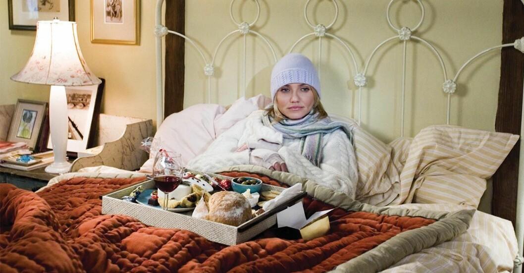 Cameron Diaz i the Holiday kan inte sova