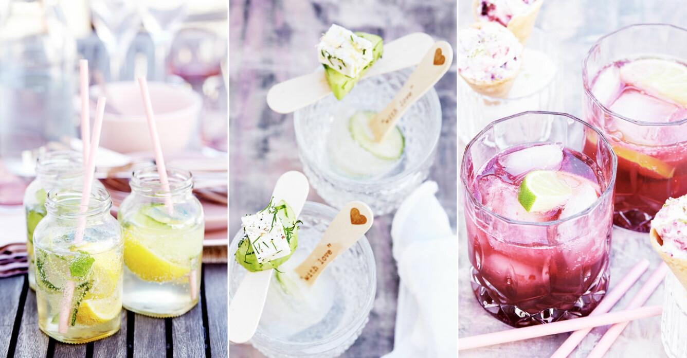 Somriga favoriter – 6 drinkar