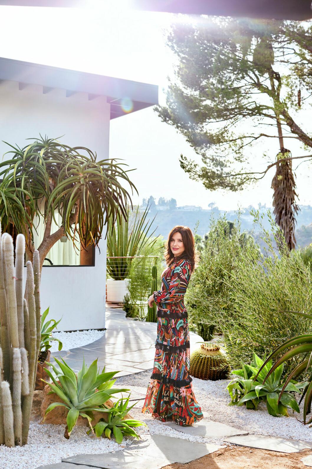 Hemma hos Sophia Bush Hollywood trädgården