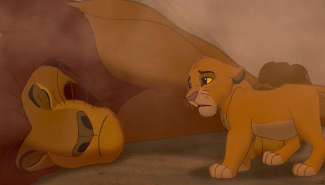 Mufasa dör i Lejonkungen