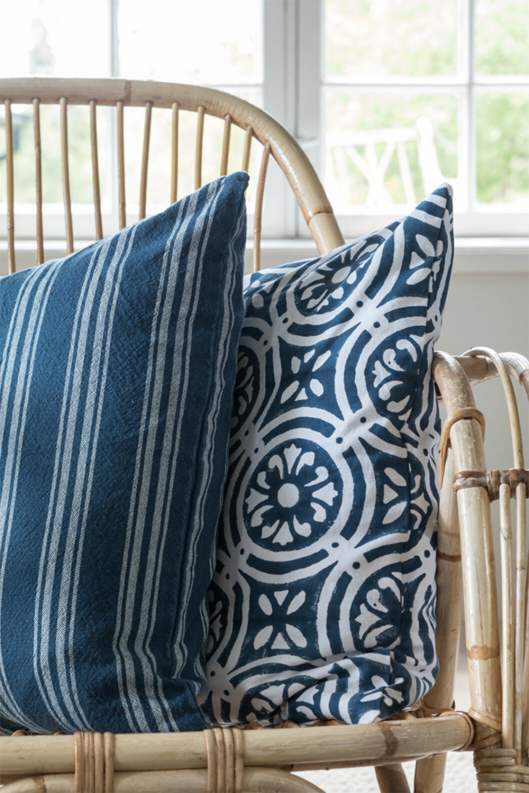 Blå textilier hos Soulosofie