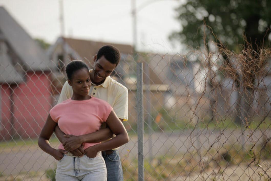 En bild från filmen Southside With You.