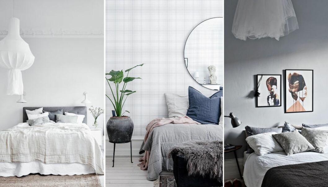 Compact living-tips för sovrummet.