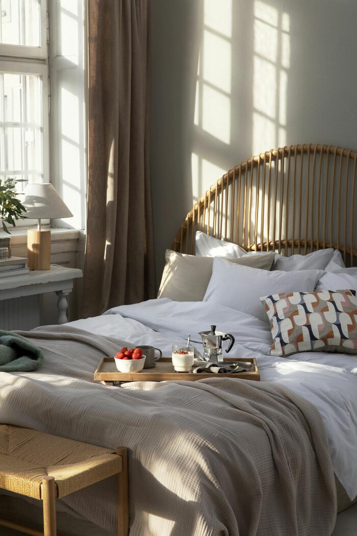 Sovrum i vår hos Åhléns