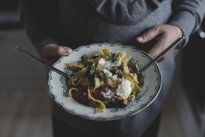 Spaghetti aglio e olio Johanna Bradford