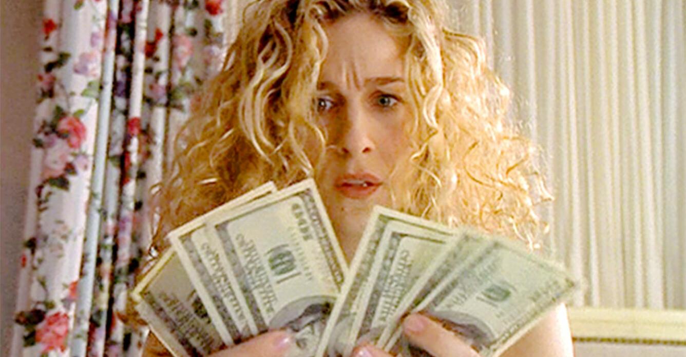 Carrie Bradshaw med massa pengar