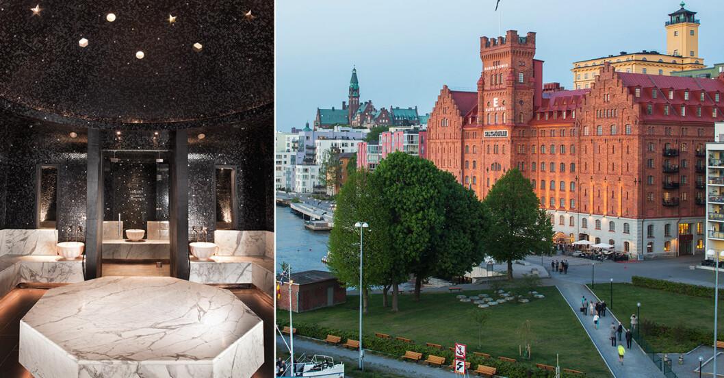 Spatips strax utanför Stockholm, Sturebadet Marina Tower