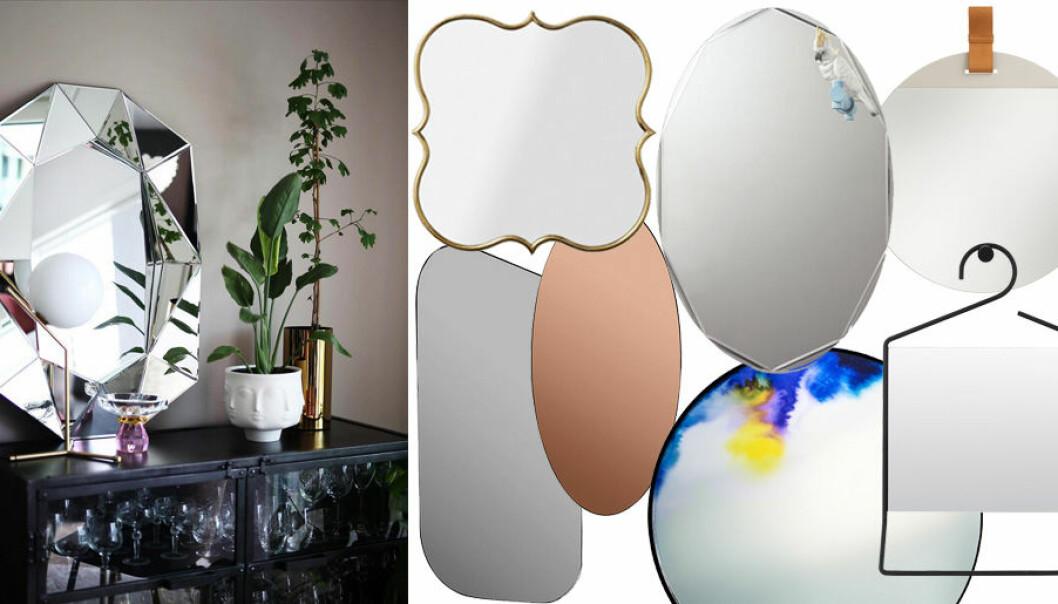 Shopping: 15 trendiga speglar att inreda med