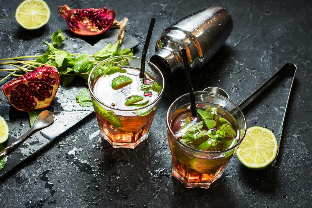Spiced rum mojito, drink enligt stjärntecken, skorpionen