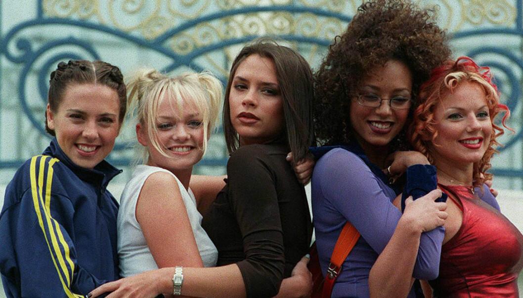 Spice girls gör remake på musikvideo.