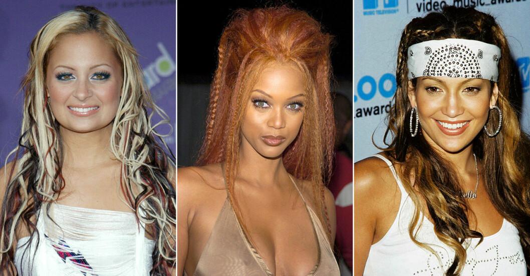 Nicole Richie, Tyra Banks och Jennifer Lopez
