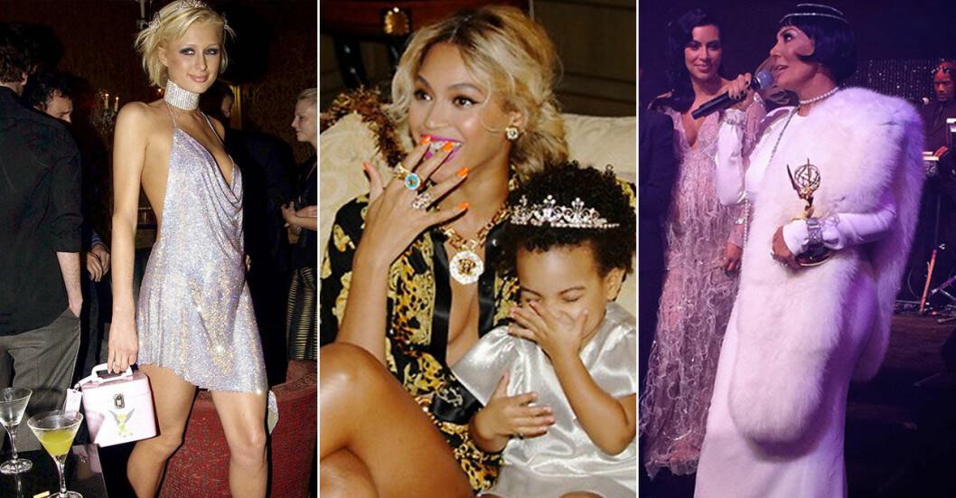 Paris Hilton, Beyonce och Kris Jennes