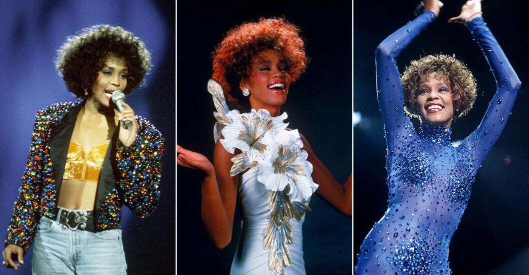 Ikonen Whitney Houston genom tiderna