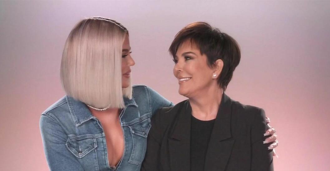 Khloe kardashian kris jenner