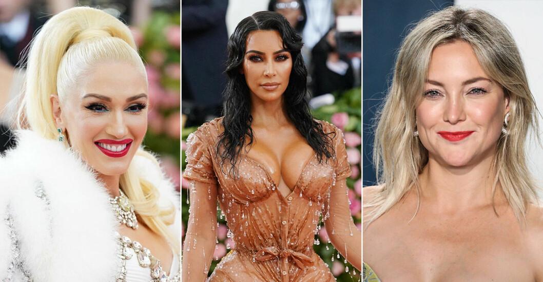 Gwen Stefani, Kim Kardashian, Kate Hudson
