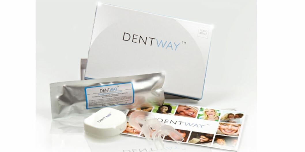 Startpaket med tandblekning