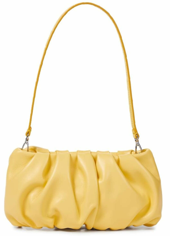 Gul väska från Staud.
