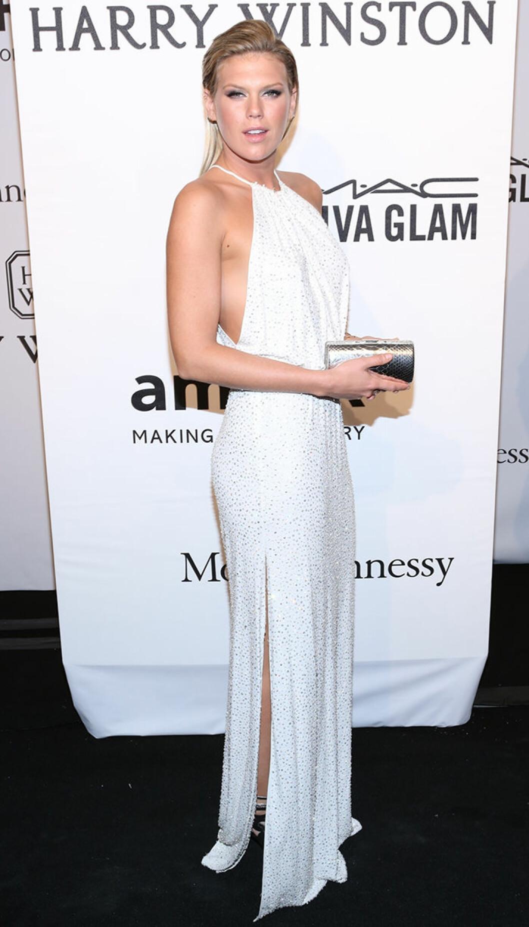 Alexandra Richards seen attending the 2015 amfAR New York Gala at Cipriani Wall Street
