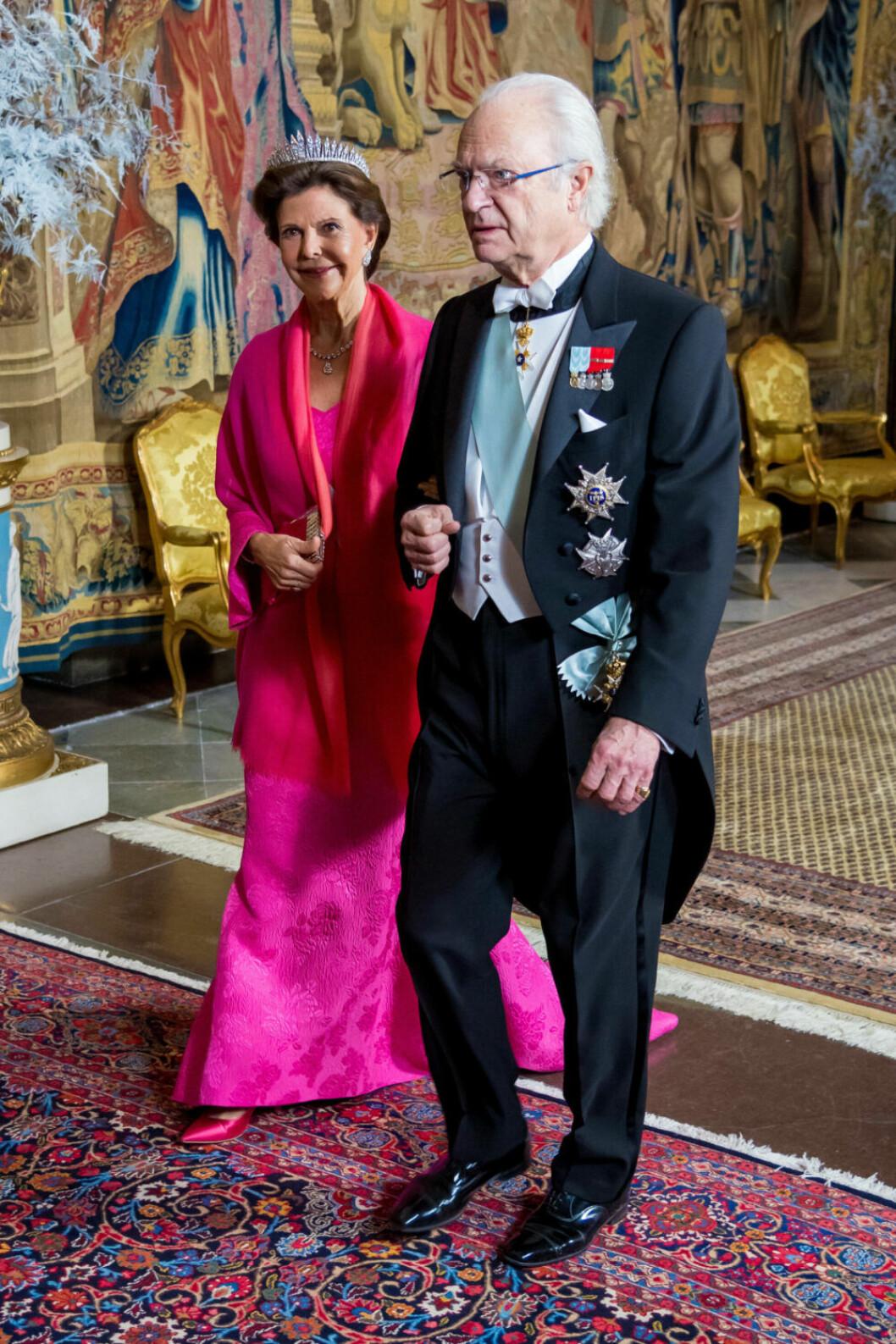 Drottning Silvia kungens middag 2018