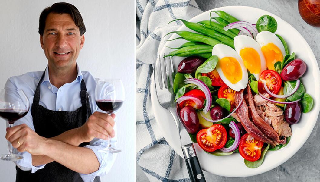 """Stefan Saidac: """"Tomater och ägg kan vara svårmatchat med vin."""""""