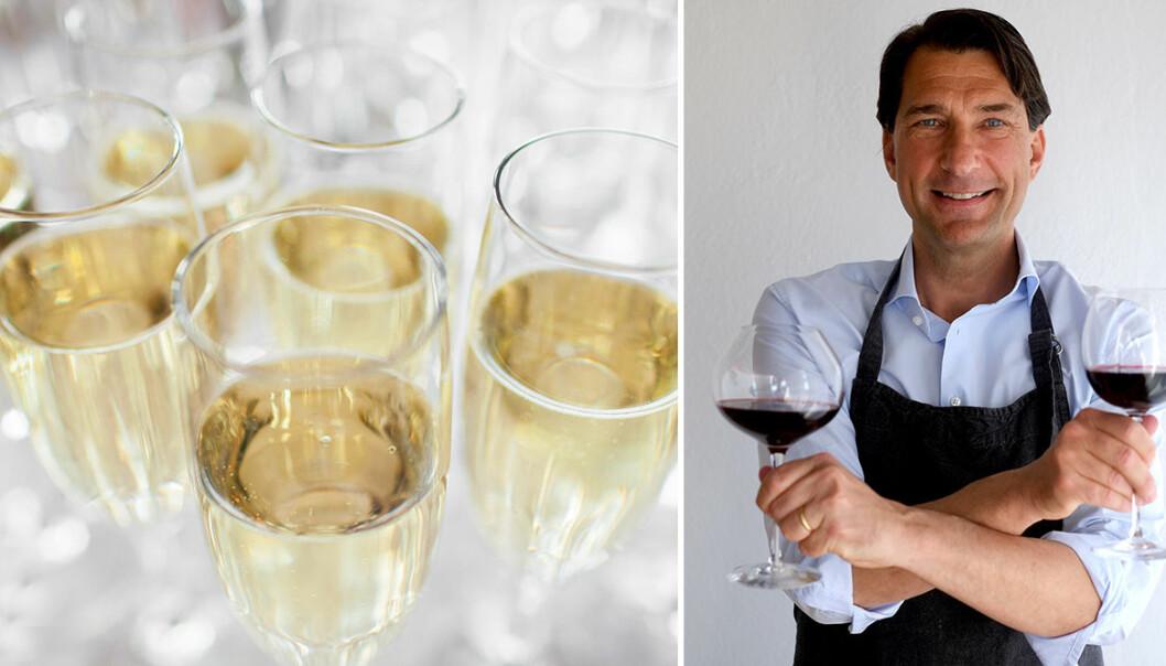 Stefan på Vinbetyget tipsar om champagne och prosecco till nyår.