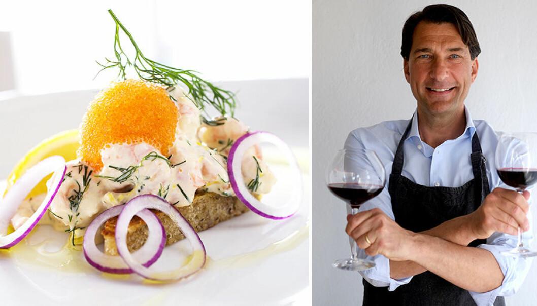 Stefan Saidac tipsar om passande viner till helgmat som Toast Skagen.