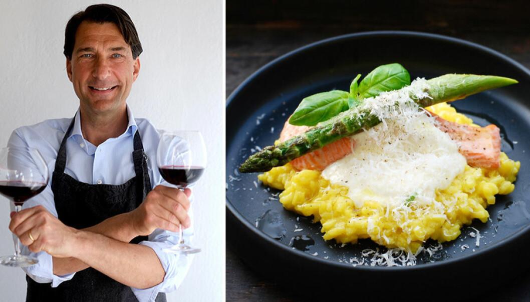Stefan Saidac tipsar om passande viner till pasta och risotto.