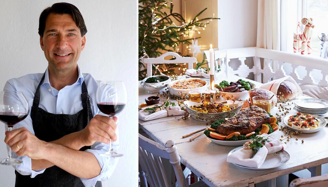 Stefan på Vinbetyget tipsar om passande viner till julmaten.
