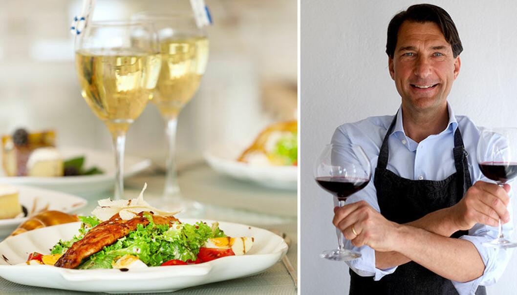 Stefan Saidac tipsar om vita viner till matiga sallader.