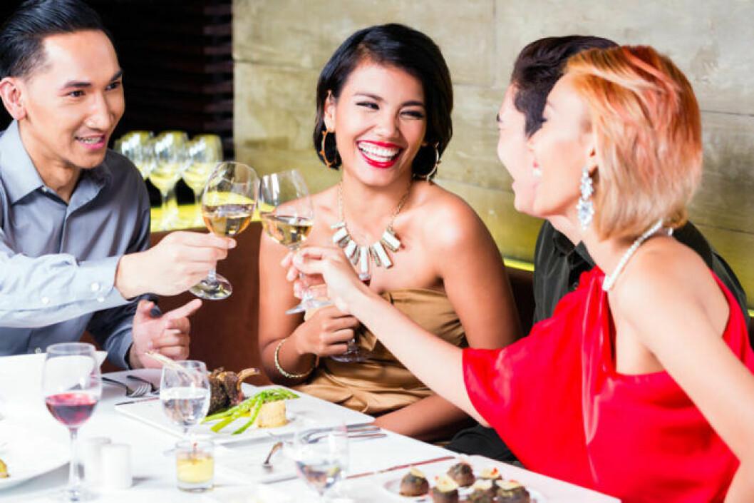 Fina restauranger med framgångsrika människor –där vill Stenbocken vara.