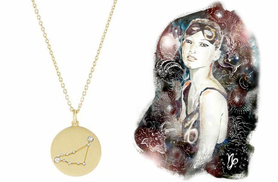 Stenbocken stjärntecken, stenbocken smycke