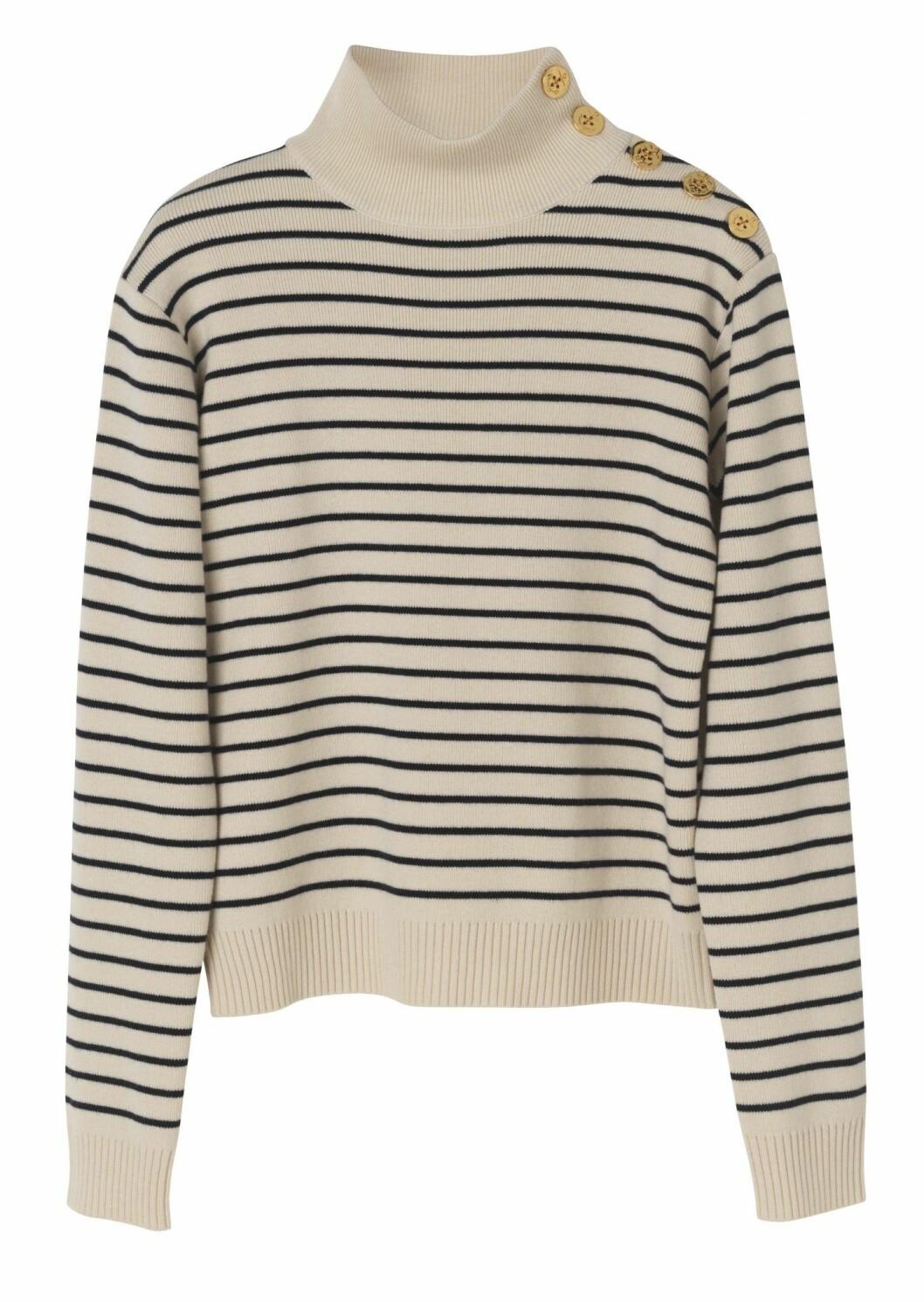 Randig stickad tröja från By Malene Birger.