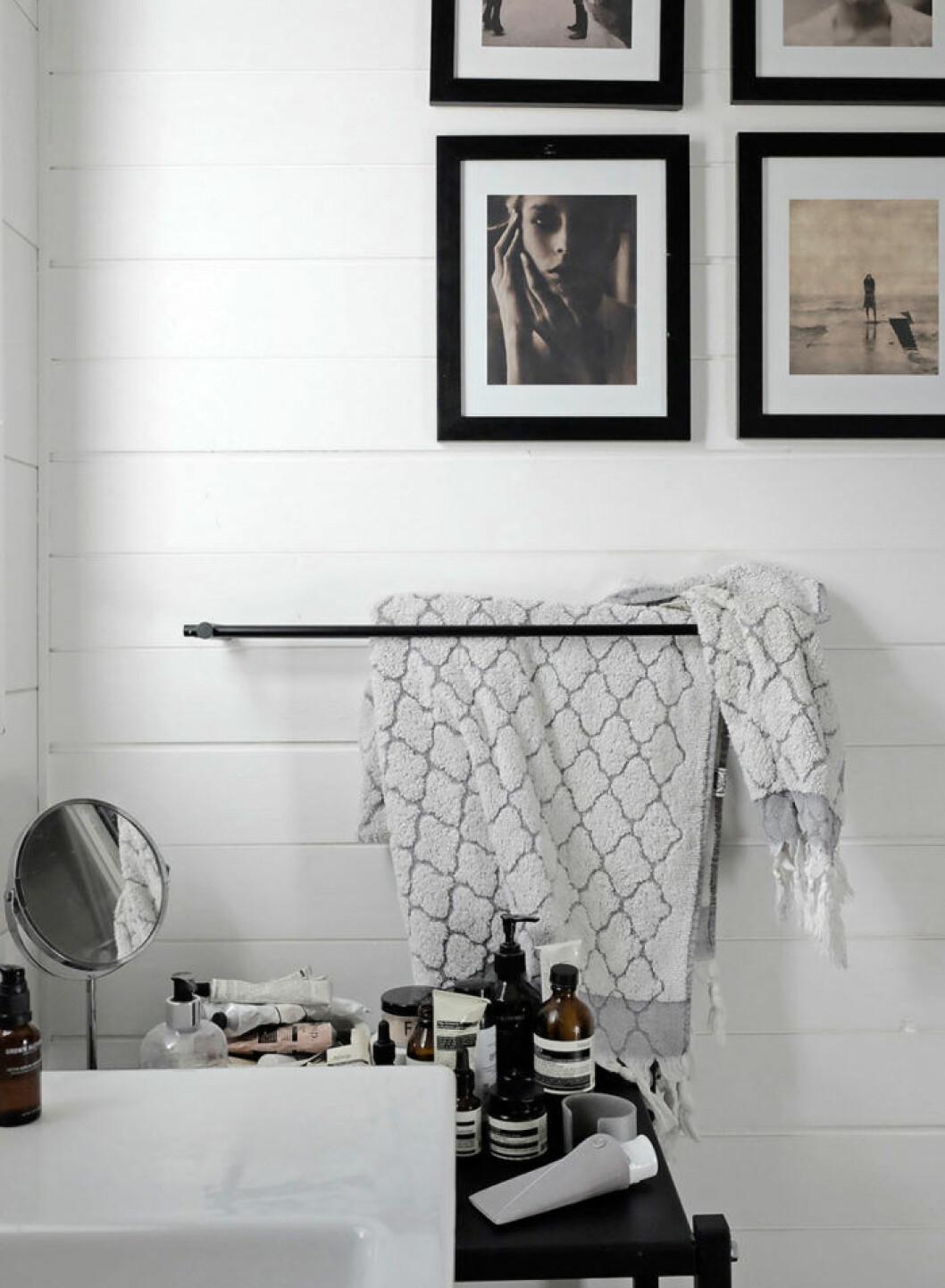 Badrummet andas lugn och harmoni.