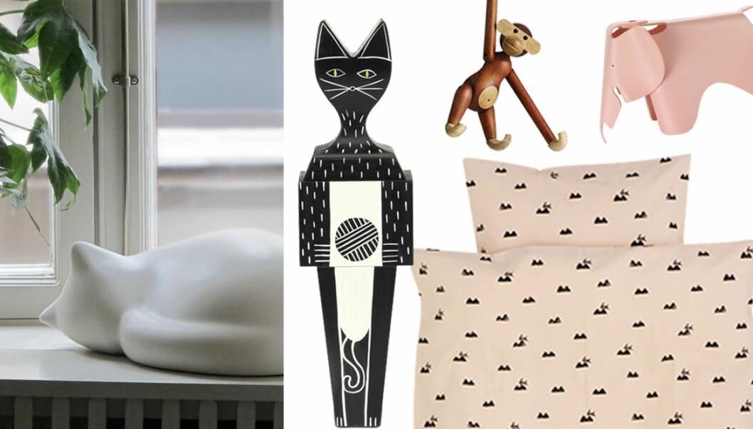 Inred med stilrena djur – shoppingtips