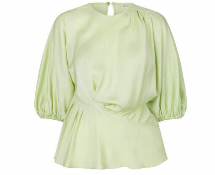 grön blus