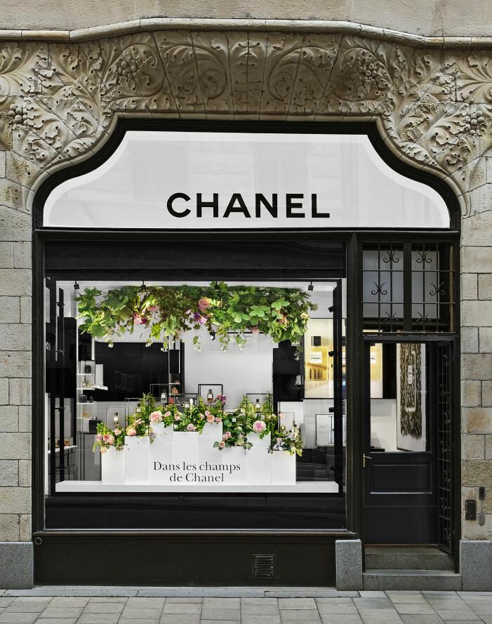 chanels butik i stockholm
