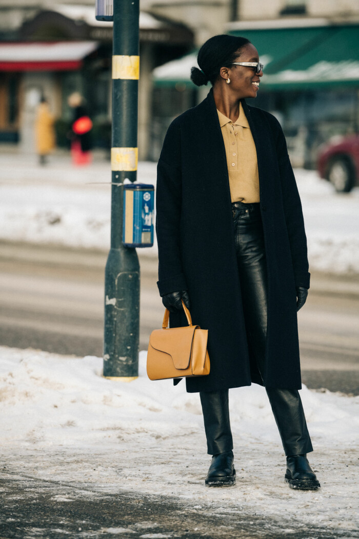 streetstyle stockholm fashion week 2021 Crystelle