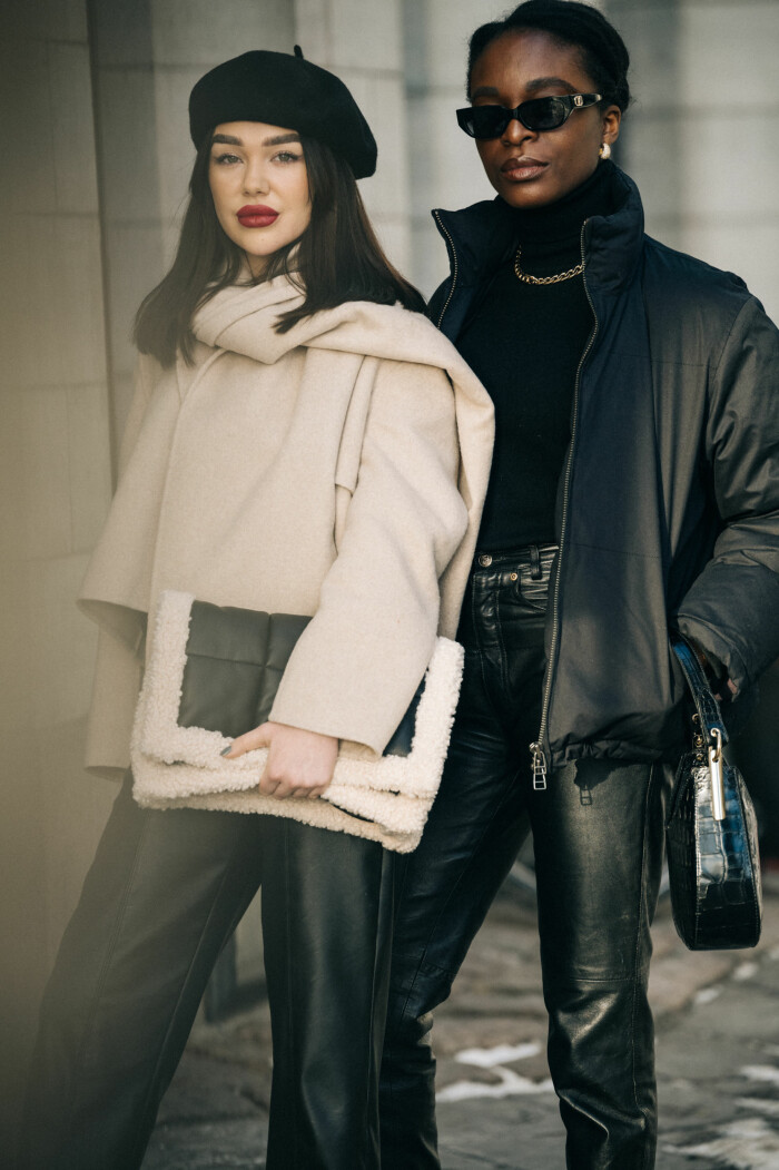 streetstyle stockholm fashion week 2021 duo