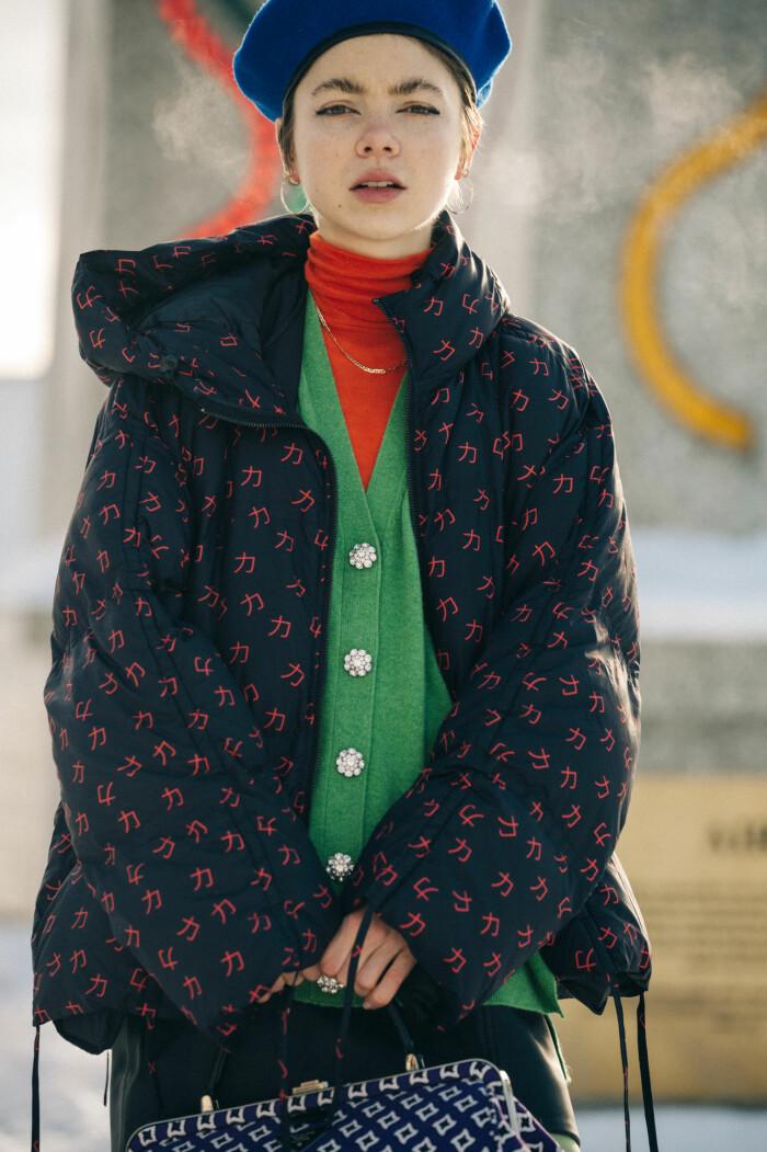 streetstyle stockholm fashion week 2021 färg