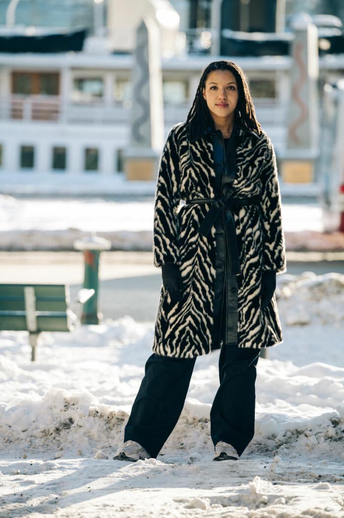 streetstyle stockholm fashion week 2021 zebrakappa