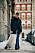 streetstyle stockholm fashion week 2021 jeans + kjol