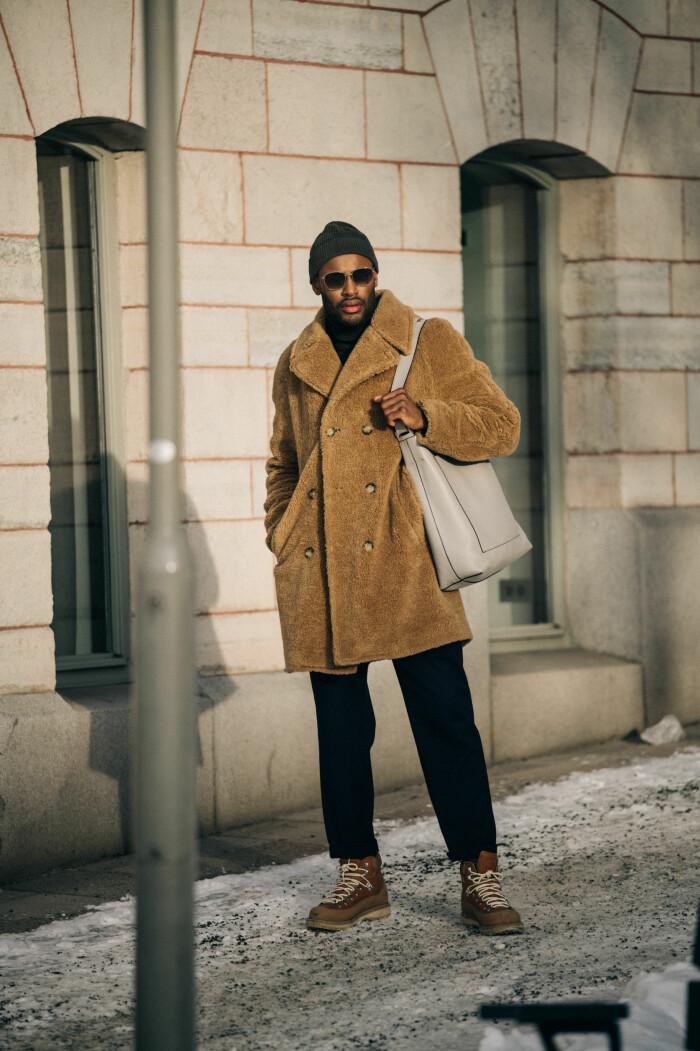 streetstyle stockholm fashion week 2021 kille i kappa