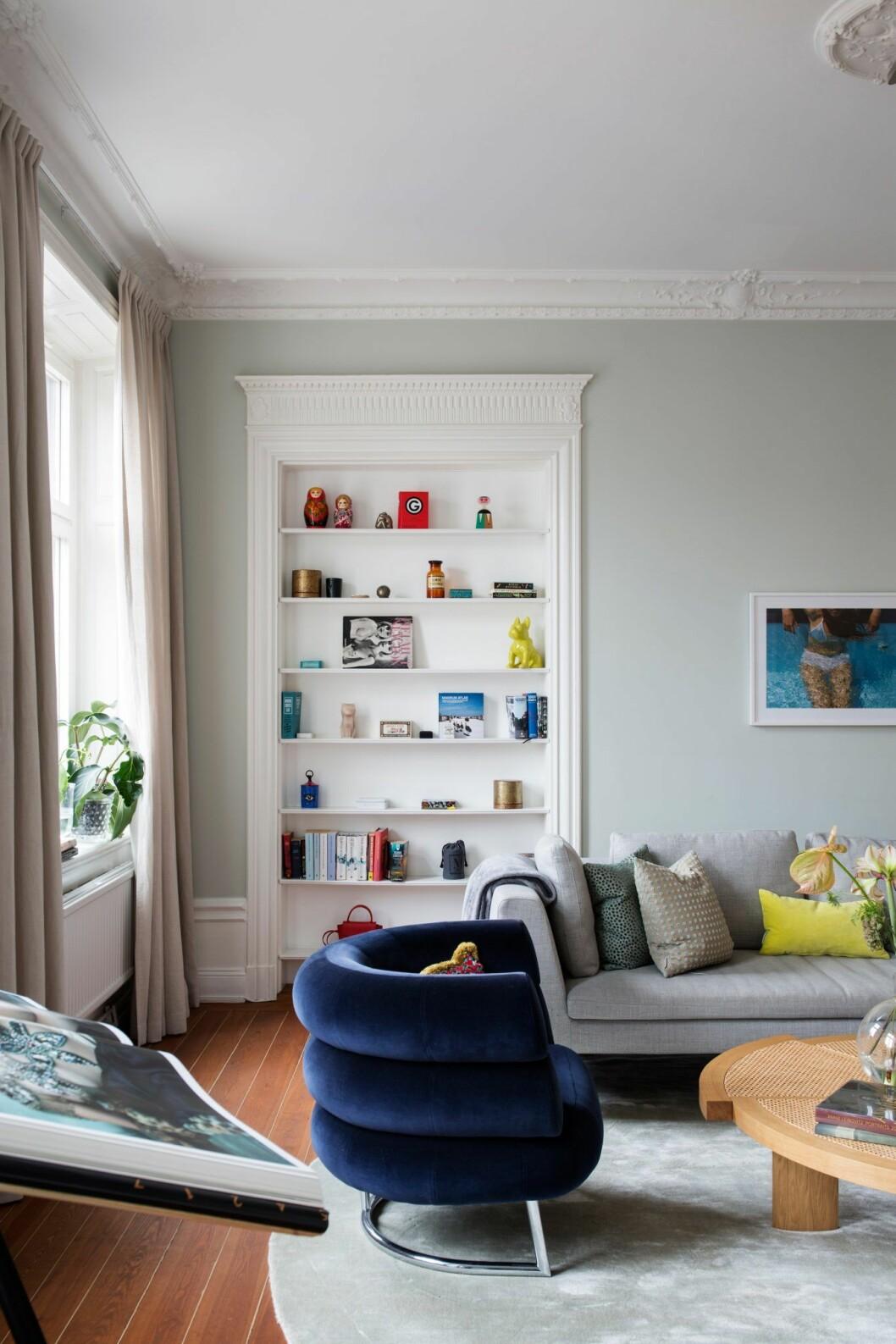 Platsbyggd förvaring i lägenheten på Östermalm, Stockholm