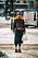 streetstyle stockholm fashion week 2021 orange