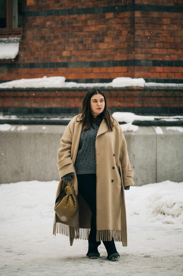 streetstyle stockholm fashion week 2021 Nadja