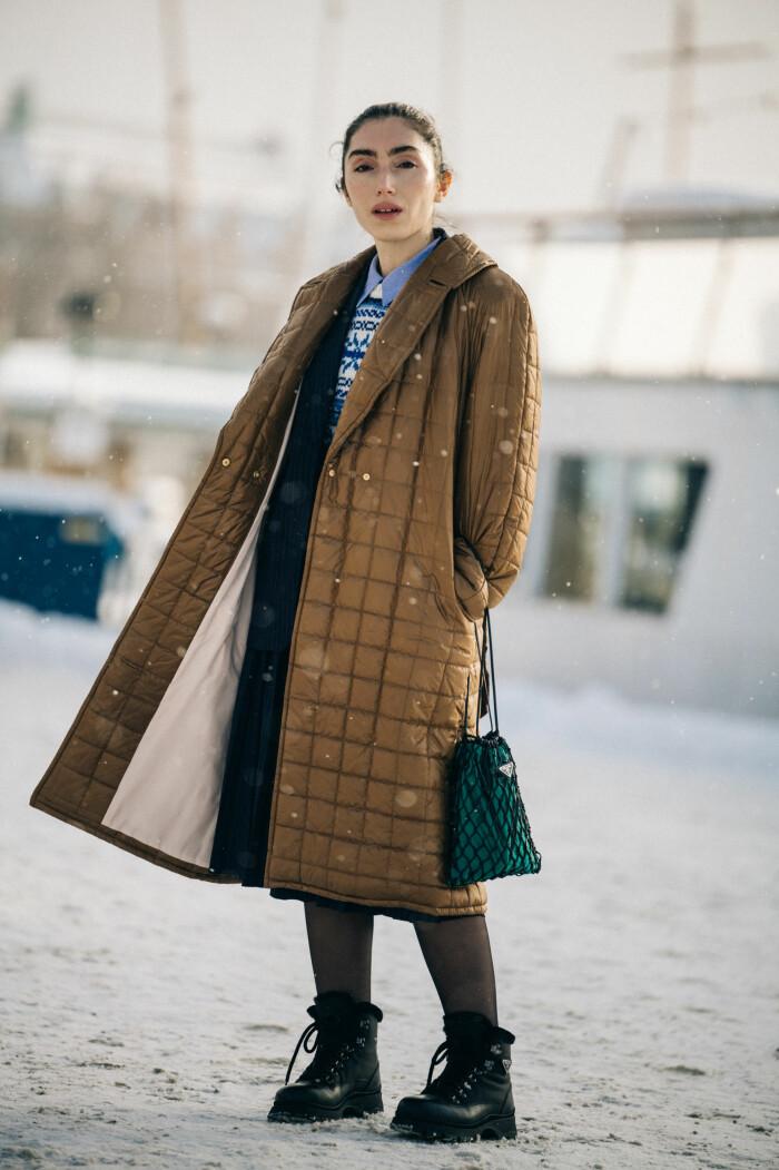 streetstyle stockholm fashion week 2021 Semra