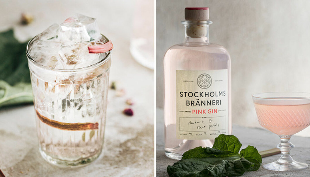Stockholms Bränneri lanserar rosa gin.