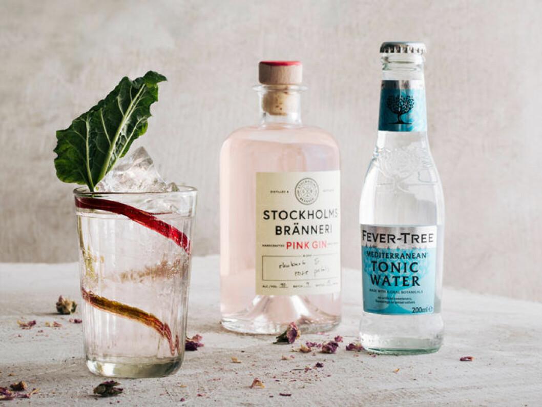Pink Gin & Tonic från Stockholms Bränneri.